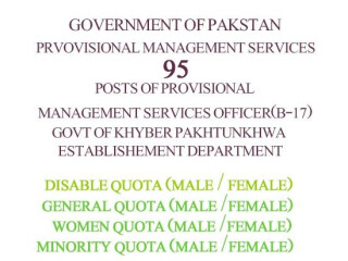 GOVERNMENT JOBS-MANAGEMENT SERVICES OFFICERS