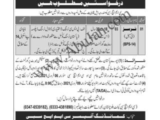 NURSES - BPS-14 ( سبی بلوچستان)