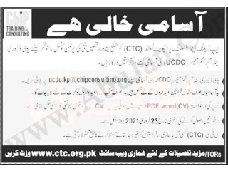UC DELIVERY & OPERATIONS OFFICER Required- Chip Training and Consulting Pvt Ltd | Jobs in Peshawar |