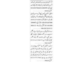 TEACHERS , MONTESSORI DIRECTORESS // HELPER TEACHER - |Jobs in Karachi| |School Jobs|