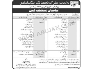 ASSIST PROFESSORS BP-19// LECTURERS BPS-18//Jr. LECTURERS BPS 17// PRIVATE SECATORY V.CHANCELLOR BPS -17- DUET-  Jobs in Karachi    Jobs in Pakistan 