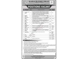 Karachi Port Trust  Jobs in Karachi    Jobs in Pakistan   Government Job 