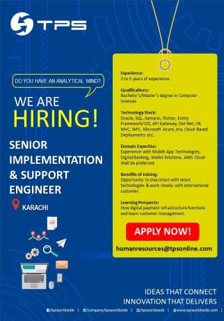 senior-implementation-support-engineer-jobs-in-karachi-jobs-in-pakistan-big-0