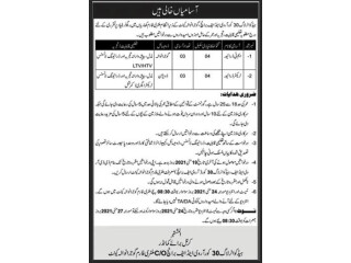 MT DRIVERS // TRACTOR DRIVER (LTV HTV) - Headquarter Log 30 Corps Gujranwala 2021- |Army Jobs||Driver Jobs| |