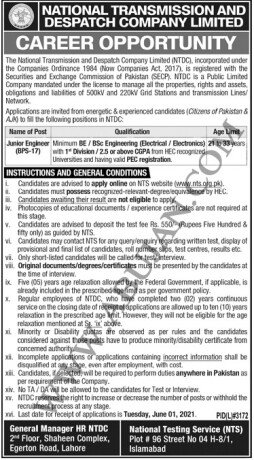 junior-engineer-bps-17-national-transmission-and-dispatch-company-limited-jobs-in-pakistan-government-jobs-big-0