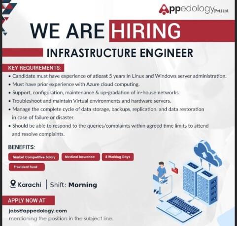 infrastructure-engineer-aiml-engineer-financial-analyst-appedology-jobs-in-karachi-big-0