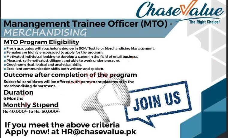 management-trainee-officer-mto-chase-value-the-right-choice-training-at-chase-value-jobs-in-karachi-big-1