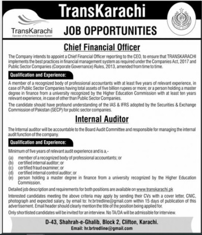 chief-financial-officer-internal-auditor-trans-karachi-jobs-in-karachi-jobs-in-pakistan-jobs-in-greenline-big-0