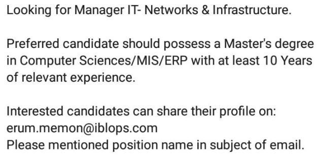 manager-it-networks-infrastructure-jobs-in-karachi-jobs-in-pakistan-big-0