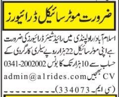 riders-share-driver-required-jobs-in-rawalpindi-jobs-in-islamabad-big-0