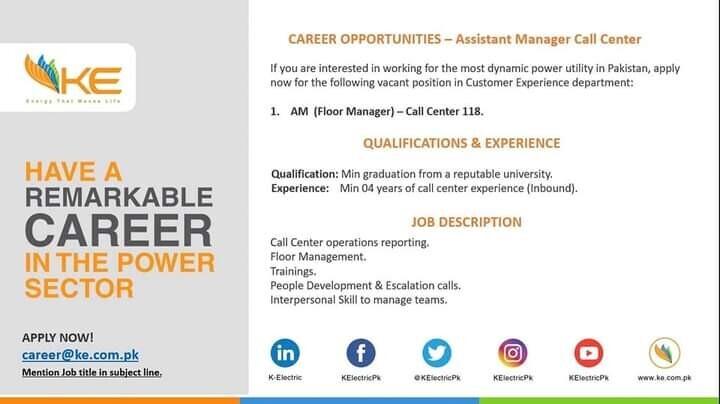 assistant-floor-manager-call-center-ke-jobs-in-ke-jobs-in-karachi-big-0