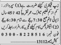 supervisor-electronics-technician-zip-factory-jobs-in-karachi-jobs-in-pakistan-big-0