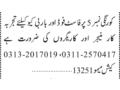 restaurant-workers-fast-food-bbq-workers-manager-korangi-no-5-jobs-in-karachi-jobs-in-pakistan-small-0