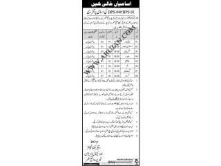 چوکیدار//اسٹنٹ جمعدار//آئل مین// بیلدار// خلاصی//فٹر// گییٹ کیپر // گریسر - | Government Jobs in Sindh| | Jobs in Khairpur|| Jobs in Sukkur |