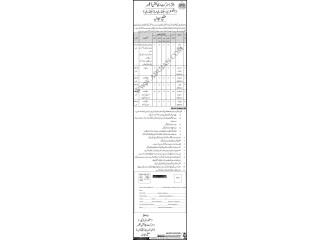 DRIVER // LIBRARY ATTENDENT // NAIB QASID//CHOKIDAR // SWEEPER// MALI// SANITARY WORKER- سجاول | Government Jobs| in Sajawal