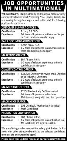 customer-support-bank-documentation-marketing-quality-control-maintenance-officer-machine-operator-production-coordinator-ykk-pakistan-big-0