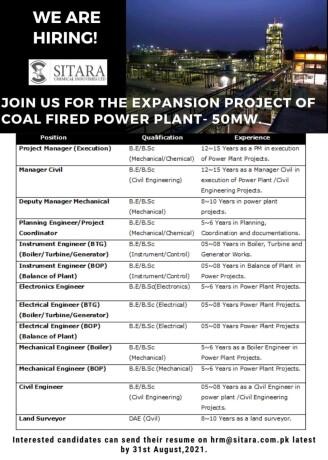 project-managerdeputy-manager-mechanicalplanning-engineerinstrument-engineerelect-elec-engineerland-surveyor-jobs-in-faisalabad-big-0