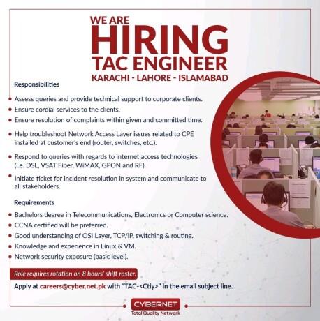 tac-engineer-cybernet-jobs-in-karachi-jobs-in-islamabad-jobs-in-lahore-big-0