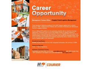 Management Trainee Officer - Supply Chain/Logistics Management - Mulphilog - | Jobs in Karachi|
