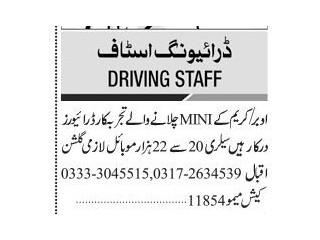 DRIVER ( Uber Careem) - |Jobs in Karachi|| Jobs in Pakistan|