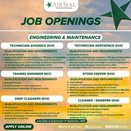 tech-avionics-tech-aerospace-trainee-engineering-store-keeper-deep-cleaners-cleaner-sweeper-air-sial-pakistan-airline-ayyr-syal-big-1