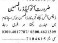 autocad-draftman-defense-office-jobs-in-lahore-jobs-in-pakistan-autocad-jobs-in-karachi-small-0