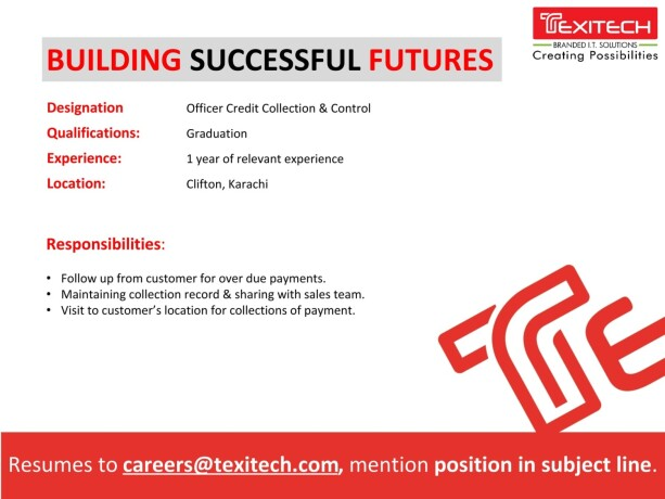 it-resident-engineer-office-credit-collection-control-channel-sales-officer-texi-tech-jobs-in-karachi-big-1