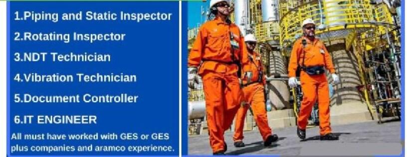 it-engineer-piping-static-inspector-ndt-tech-rotation-inspector-technical-clerkdocument-controller-vibration-tech-saudia-arbia-ksa-big-0